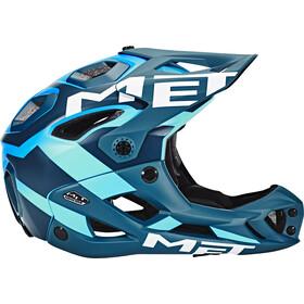 MET Parachute Casque, blue/cyan